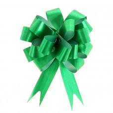 """Бант-шар """"Классика"""" 1,8 см, зелёный, диаметр 10 см"""