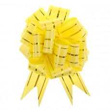 """Бант-шар """"Золотое сечение"""", 4,5 см, желто-золотой, диаметр 16 см"""