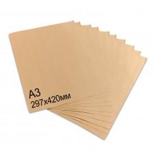Крафт бумага в листах А3, 42x30см, плотность: 78г\м2