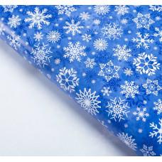 """Бумага упаковочная глянцевая """"Снежный вальс"""", 50х70 см"""