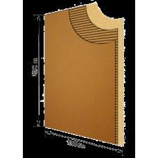 Гофрокартон листовой 2м х 1м, Т21С