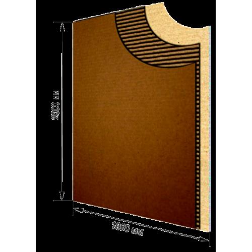 Гофрокартон листовой 2м х 1м, Т23В