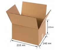 Коробка картонная 210х140х120мм
