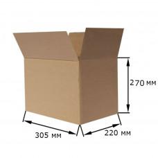 Коробка картонная 305х220х270мм