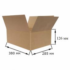 Коробка картонная 380х285х126мм