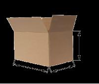 Коробка картонная 380х380х270мм