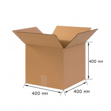 Коробка картонная 400х400х400мм