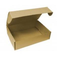 Коробка самосборная 160х110х40мм, бурый