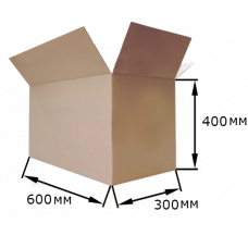 Коробка картонная 600х300х400мм