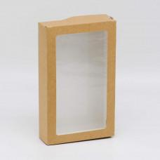 Коробка универсальная с окном, 200х120х40 мм, 0,96 л