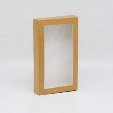 Коробка универсальная с окном, 260х150х40 мм, 1,5 л