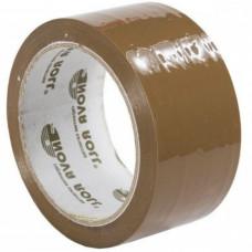 Скотч - клейкая лента темная 48 х 150м, 47мкм, Нова Ролл 206
