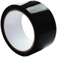 Скотч - клейкая лента черная 48 х 16м, 40мкм, Альянс