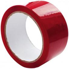 Скотч - клейкая лента красная 48 х 16м, 40мкм, Альянс
