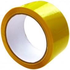 Скотч - клейкая лента желтая 48 х 16м, 40мкм, Альянс