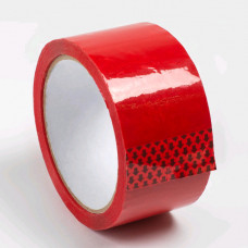 Скотч - клейкая лента красная 48 х 36м, 40мкм, Альянс