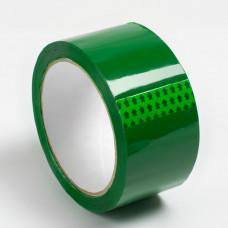 Скотч - клейкая лента зеленая 48 х 36м, 40мкм, Альянс