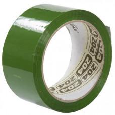 Клейкая лента 48мм х 66м, цвет зелёный, НР 204