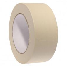 Лента малярная (бумажный скотч) 50мм х 50м, 40мкм, Альянс