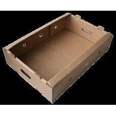 Лоток картонный 584х374х148 мм, бурый