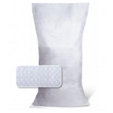 Мешок полипропиленовый 55х105см, V=80л, до 50 кг, белый