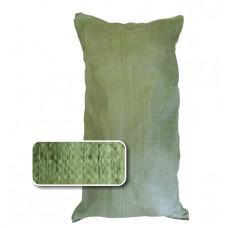 Мешок полипропиленовый 55х95см, V=80л, до 50 кг, зеленый