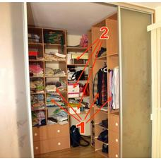 Набор упаковки для переезда комнаты Гардеробная