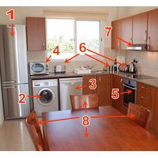 Набор упаковки для переезда комнаты Кухня