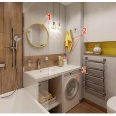 Набор упаковки для переезда комнаты Ванная