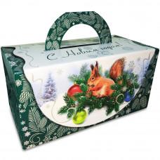 """Упаковка для новогоднего подарка """"Белочка"""", 3000 гр"""