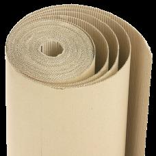 Рулонный гофрокартон: 1м х 50м, два слоя