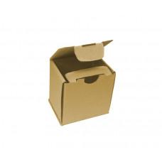 Коробка самосборная 120х110х120мм, бурый