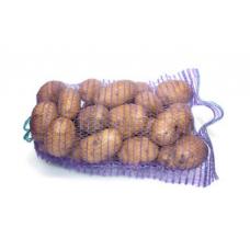 Сетка овощная мешок 21х31см, 3кг, фиолетовая