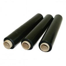 Стрейч пленка 500мм, 2000г, 20мкм, черная, первичка - 240 метров